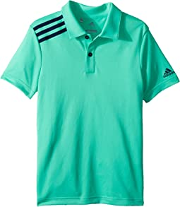 3 Stripe Polo (Big Kids)