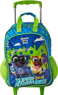 Mala Escolar G com Rodinhas Puppy Dog Pals, 41 X 30 X 14, Dermiwil 52137, Multicor