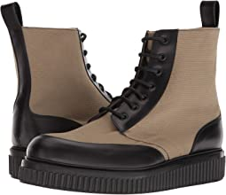 Aiden Canvas & Leather Boot