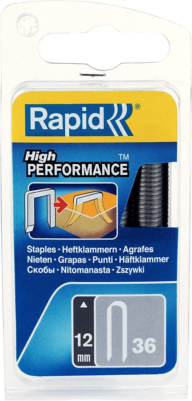 Rapid 40109626 Grapas para cable, 12mm, Set de 864 Piezas