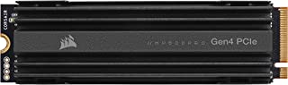 Corsair MP600 PRO Gen4 PCIe x4 NVMe M.2 SSD – High Density TLC NAND – Aluminum Heatspreader – M.2 2280 Form Factor