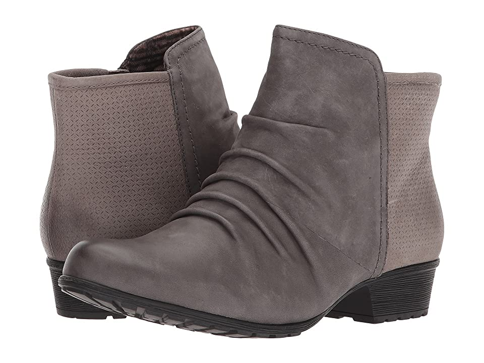 Rockport Cobb Hill Collection Cobb Hill Gratasha Panel Boot (Dark Grey Nubuck) Women