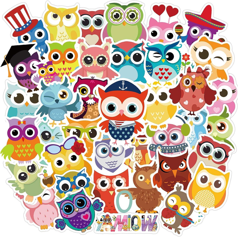 80pcs Owl supreme Stickers for B Waterproof Kids Water Alternative dealer