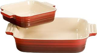 Le Creuset Square Dish Bonus, Cherry
