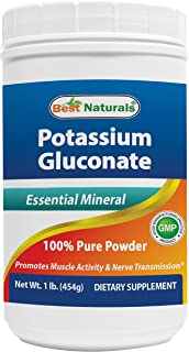 Best Naturals Potassium Gluconate 1lb Powder