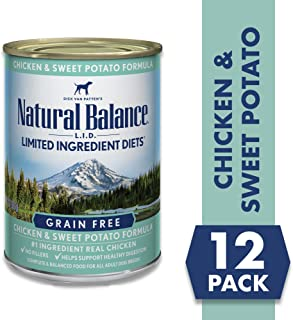 Natural Balance L.I.D. Limited Ingredient Diets Wet Dog Food