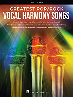 Greatest Pop/Rock Vocal Harmony Songs: Note-for-Note Vocal Transcriptions (English Edition)