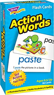 FLASH CARDS ACTION WORDS 96/BOX