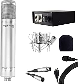 Nady TCM-1150 Studio Tube Condenser Microphone - Includes gold-sputtered mylar dual diaphragm