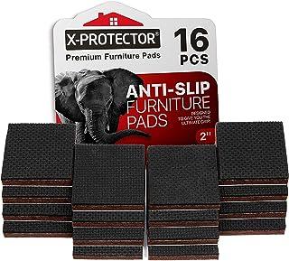 Meubelpads X-PROTECTOR - Antislippads - Premium 16 stuks 50 mm - Vloerbeschermers - Rubberen voetjes voor meubelpoten - Id...