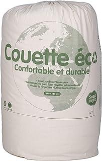Couette Eco Responsable 220x240 cm - Chaude Moelleuse Douce