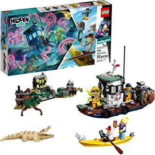 LEGO Hidden Side Wrecked Shrimp Boat 70419 Building Kit, App Toy for 7+ Year Old Boys and Girls, Interactive Augmented Reality Playset (310 Pieces)