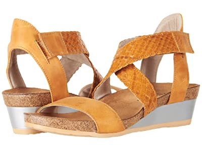 Naot Cupid (Oily Dune Nubuck/Camel Braid) Women
