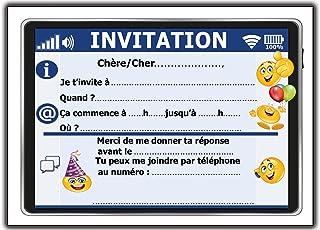 Invitation Anniversaire Garcon 10 Ans