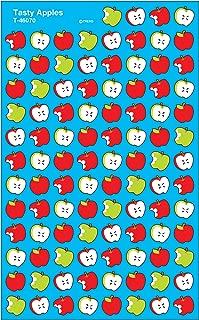 Trend Enterprises Inc. Tasty Apples superShapes Stickers, 800 ct