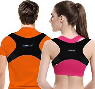 Honaitty Posture Corrector for Women & Men Adjustable Upper Back Brace for Shoulder and Clavicle Support Best Brace for Posture Women Effective Medical Kyphosis Posture Brace Posture Trainer