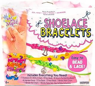 Just My Style Shoelace Bracelets by Horizon Group USA