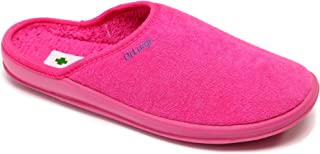 DrLuigi Medical Slippers for Women - Memory Foam Shoes Indoor Outdoor Italian Cotton - Made in EU - Relieves Pressure, Imp...