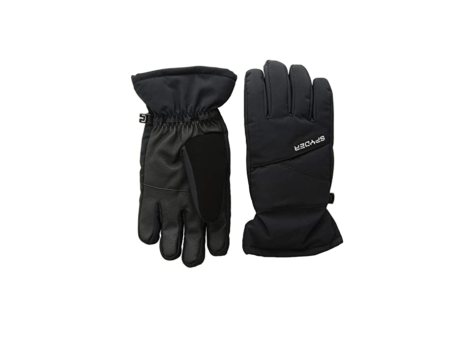 Spyder Kids Astrid Ski Gloves (Little Kids/Big Kids) (Black/Black) Ski Gloves