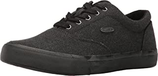 Lugz Men's Seabrook Fashion Sneaker, Black, 10.5 D US