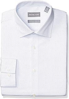 3831a6645ff Michael Kors Mens Non Iron Slim Fit Dress Shirts
