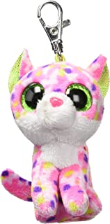 Ty Carletto 36634Sophie Cat Clip with Glitter Eyes, Glubschi's Beanie