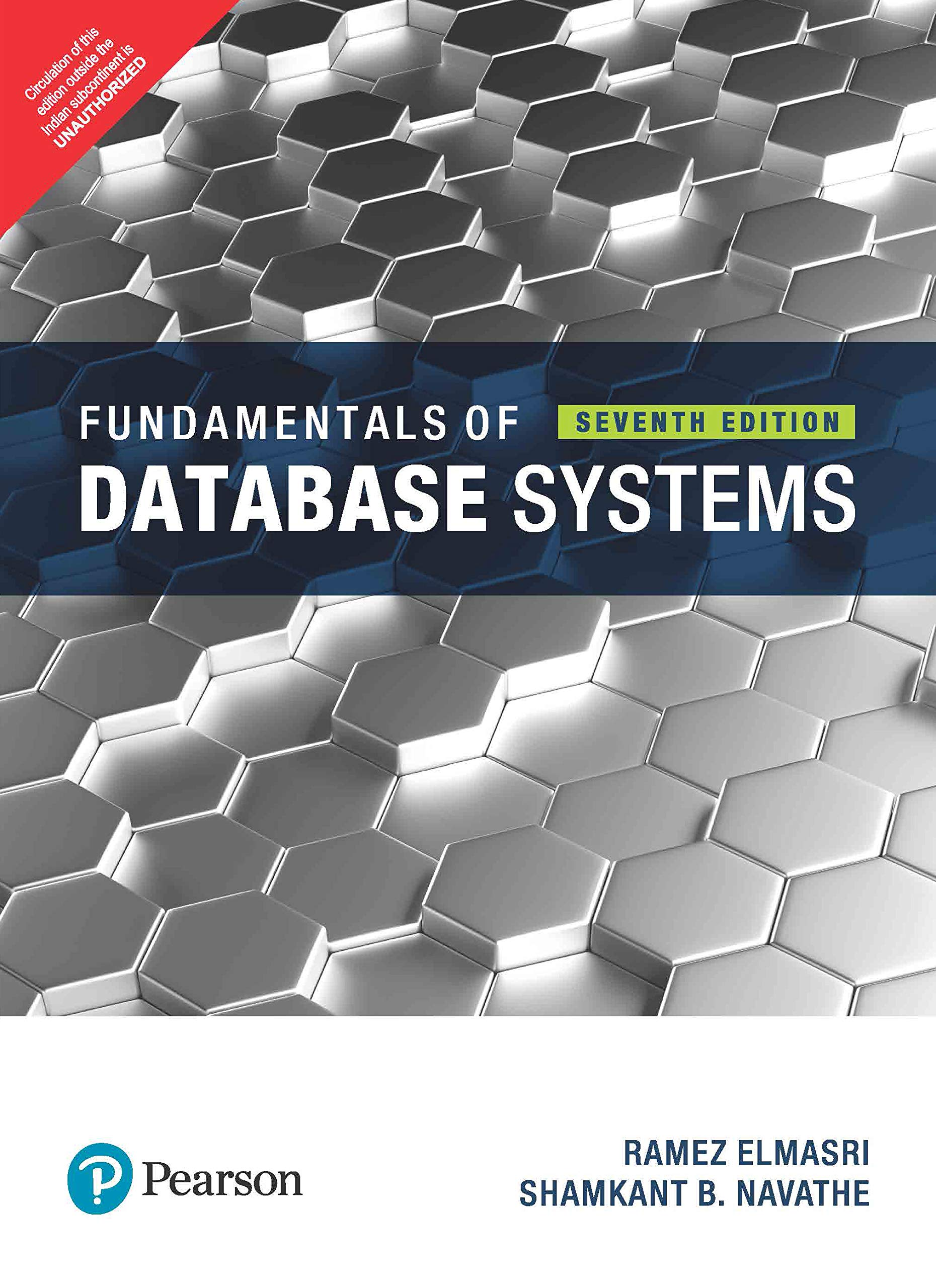 Fundamentals Of Database System, 7Th Edn