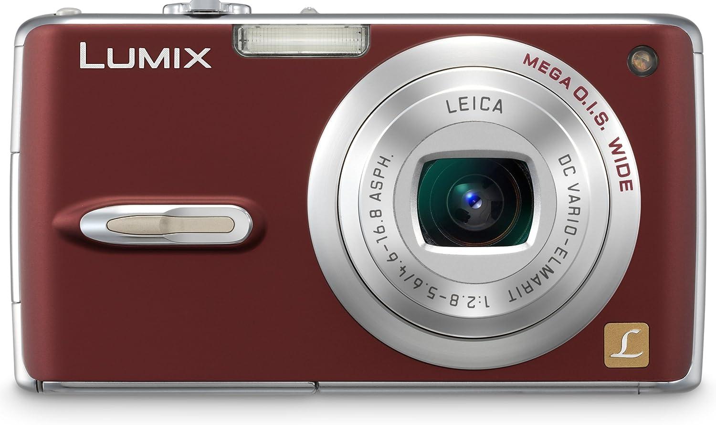Panasonic Popular brand DMC-FX07R 7.2MP Digital 40% OFF Cheap Sale Camera Image 3.6x Optical with