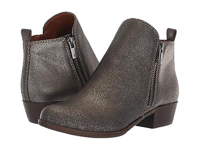 Lucky Brand Kids Basel (Little Kid/Big Kid) (Pewter) Girls Shoes