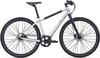 Giant Seek 128Pulgadas Urban Bike rawaluminium/Seda Negro Mate (2016)