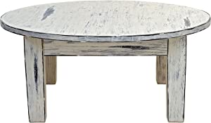 Casual Elements Kids Table, Round 42-inch, Handmade from Solid Wood