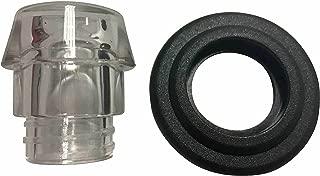 Replacement Plastic Knob Top and Washer Ring fits Farberware Yosemite Coffee Percolators