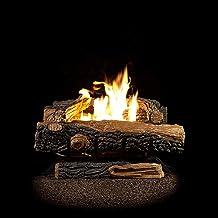 Sure Heat Mountain Vernon Oak Vent Free Dual Burner Natural