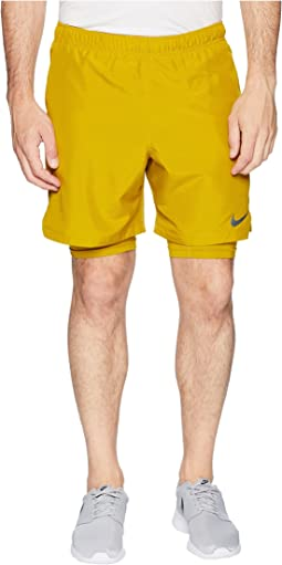 "Challenger 2-in-1 Shorts 7"" Perforated"