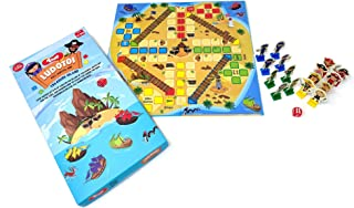 Toiing Ludotoi - Pirate Themed Board Game | Ludo Game with A Twist | Fun Coopertive Family Game | Great Birthday Gift for ...