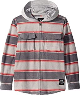 Surf Days Zip Hoodie (Big Kids)