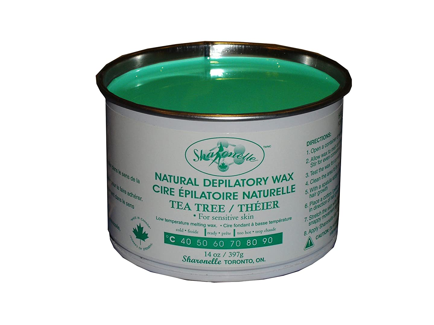 Sharonelle Natural Tea Tree Soft Wax For Sensitive Skin in 14 oz. (1)