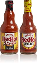 Frank's RedHot Hot Buffalo & Xtra Hot Sauce Variety Pack, 12oz (Pack of 2)