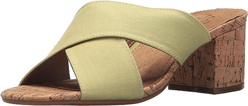 Aerosoles A2 Woherren Midday Slide Sandal, Light Grün Combo, 10 M US