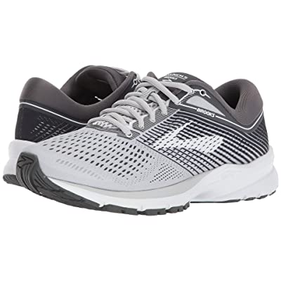 Brooks Launch 5 (Grey/Ebony/White) Women