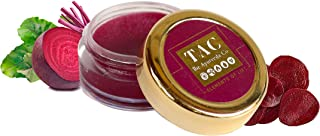 TAC - The Ayurveda Co. Beetroot Lip Balm for Dry Damaged and Chapped Lips | Ayurvedic Lip Moisturizer LipBalm Enriched wit...