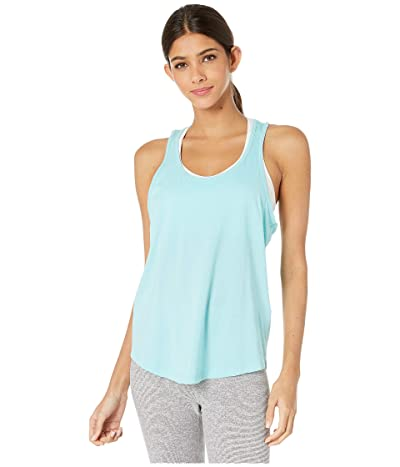 Beyond Yoga To the Point Looped Tank (Island Topaz) Women