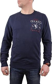 Timberland Men's Pullover Sweatshirt Exeter River Graphic