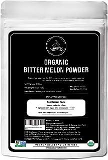 Naturevibe Botanicals Organic Bitter Melon Powder, 5lbs - Momordica Charantia | Non GMO & Gluten Free | Her...