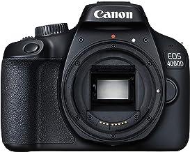 Canon EOS 4000D DSLR Kamera Gehäuse (18 MP, DIGIC 4+, EOS Movie Full HD, WiFi) schwarz