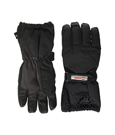 LEGO Kids Snow Gloves with Thinsulate Insulation (Little Kids/Big Kids) (Black) Over-Mits Gloves