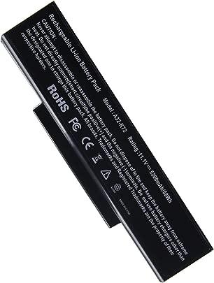 OEM Ersatzakku Notebookakku f r Asus Notoebook Laptop Akku A32-K72 A32-N71 f r Asus A72 A73 K72 K73 N71 N73 Pro7A  Pro7B Pro7C  Pro78  X7A X7B  X77  11 1v 4400mAh Replacement Batterie