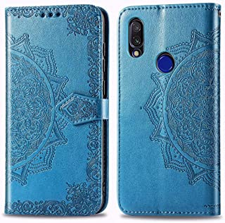 FanTing Case for Xiaomi Redmi 6A,Mandala series Mobile Wallet Flip Cover with Mobile Phone Holder and Card Slot,Magnetic P...