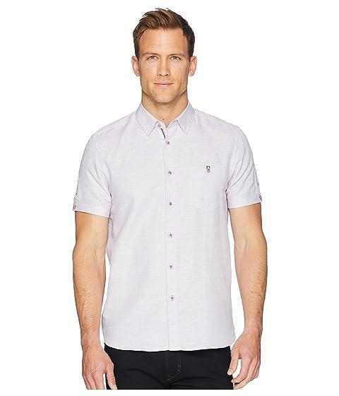 Peeze Woven Ted Short Sleeve Baker Shirt UZwBwxaq
