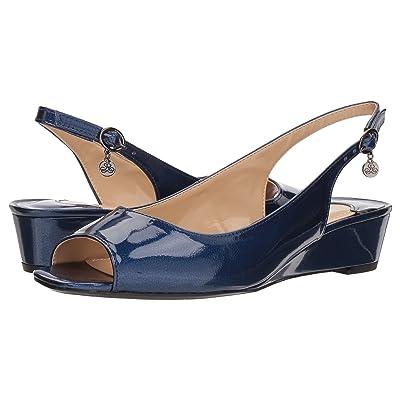 J. Renee Alivia (Navy Metallic) High Heels